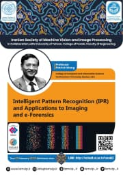"""✅ Iranian Society of Machine Vision and Image Processing in Collaboration with University of Tehran, College of Farabi, Faculty of Engineering:  ✳️ """"The First Iranian Webinar on Machine Vision and Image Processing""""  👤 By: Professor Patrick Wang  🔹 Professor, College of Computer and Information Science 🔹 Northern University, Boston, USA  🔴 Topic: Intelligent Pattern Recognition (IPR) and Applications to Imaging and e-Forensics  📅 Thursday, 25 Feb. 2021  ⏰ 10:30 AM , Boston time  Meeting room: http://vclas9.ut.ac.ir/farabi3  🌐 http://ismvip.ir/?page_id=6668 🆔 @ismvip_webinar 🆔 @ismvip_ir"""
