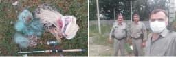 ماموران یگان حفاظت محیط زیست آمل حین گشت وکنترل در رودخانه گرمرودبلیران بخش دشتسر از سه گروه صیاد غیر مجاز یک دستگاه  لانسر، ۵ رشته دام ماهیگیری ویک رشته سالیک  کشف وضبط کردند. @mazanddoe