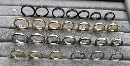 حلقه استیل رنگ ثابت سایز ۶-۷-۸-۹-۱۰ هر عدد ۱۵ هزار  جهت سفارش   sapp.ir/pakhske_zivar_alat  شماره تماس  09032331829  کانال اعتماد  sapp.ir/etemademon  کانال تک فروشی  sapp.ir/zivaralat_mohamadi  کانال عمده فروشی   sapp.ir/pakhske_badalijat