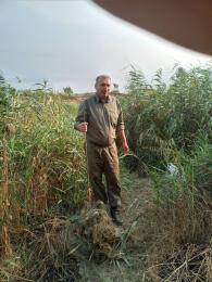 مامورین اجرایی پناهگاه حیات وحش دشت ناز حین گشت و کنترل و جلوگیری از تخلفات شکار و صید در رودخانه زردی یک رشته تور ماهیگیری کشف وضبط کردند. @mazanddoe