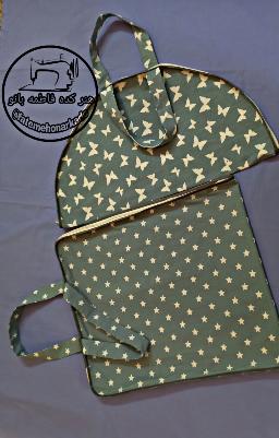 #کیسه ی خرید نان #کیسه ی خرید نان تافتون سفارش خانم عارفی از تهران  @fatemehonarkade