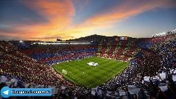 🖊حضور تماشاگران در ورزشگاه های اسپانیا به 40 درصد افزایش یافت. به این ترتیب در بازی حساس سه شنبه شب بارسلونا 🆚 بایرن مونیخ حدود 40 هزار نفر حضور پیدا خواهند کرد 📰نقل از Mundo Deportivo  پیجمون در اینستاگرام👌👌👌 instagram.com/stories/wallpaper_footballi3